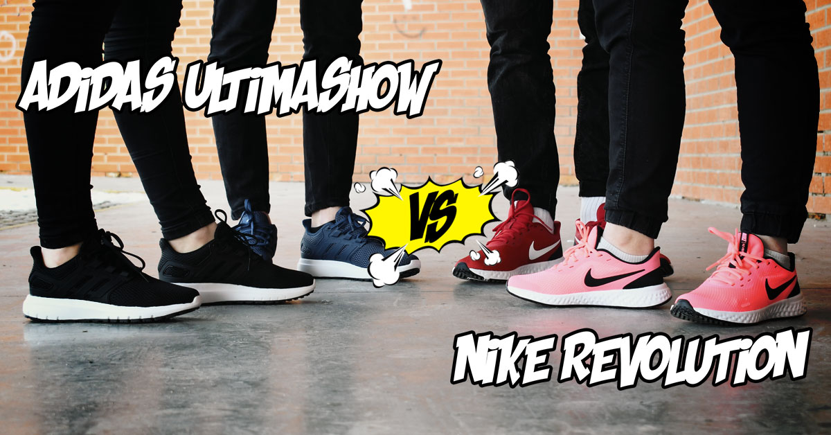 adidas ultimashow i nike revolution