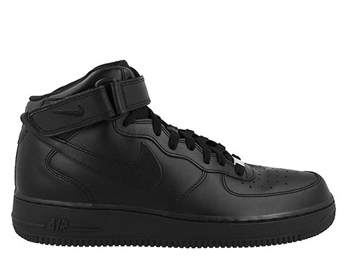 """nike air force 1 mid 07 """"all black"""""""