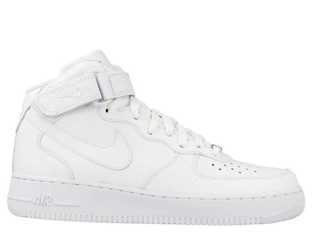 "nike air force 1 mid 07 ""all white"""