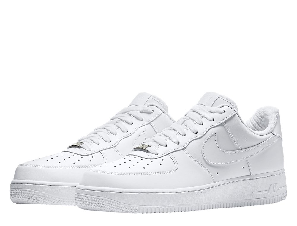 """nike air force 1 low 07 """"all white"""""""