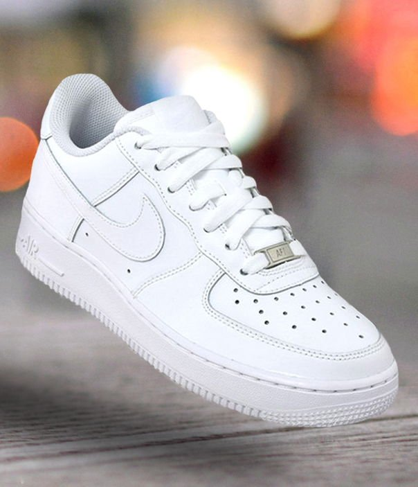 nike air force 1 low (gs) all white