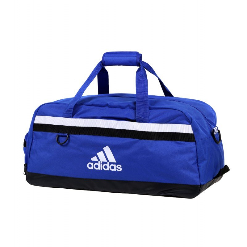 adidas tiro 15 team duffel bag large gym blue