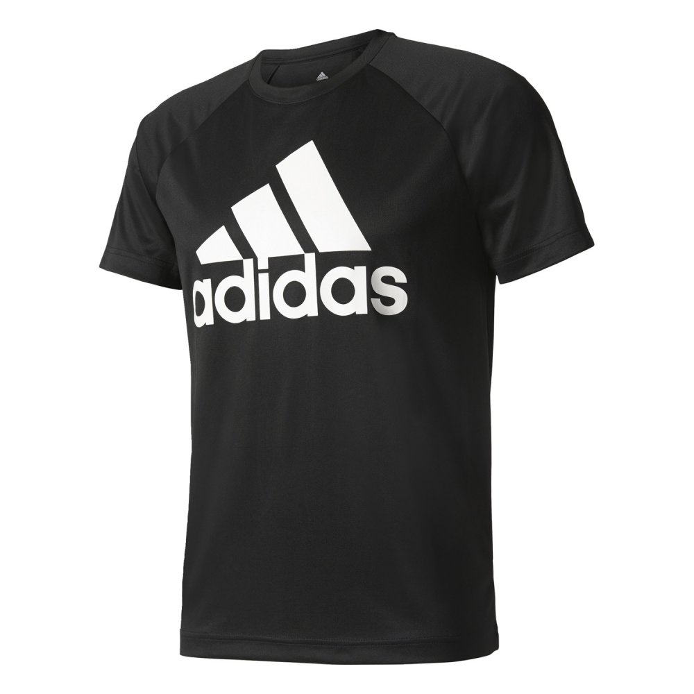 adidas design to move tee logo black