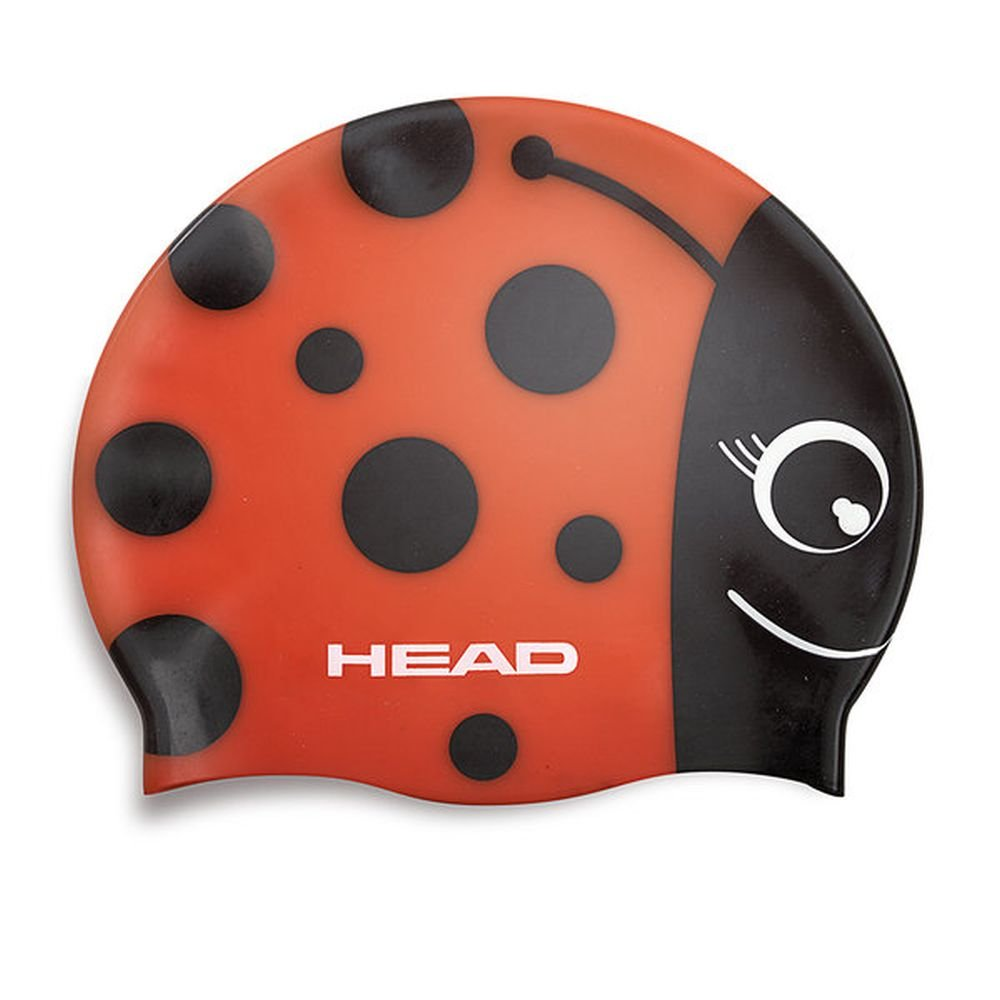 czepek head silicone meteor red
