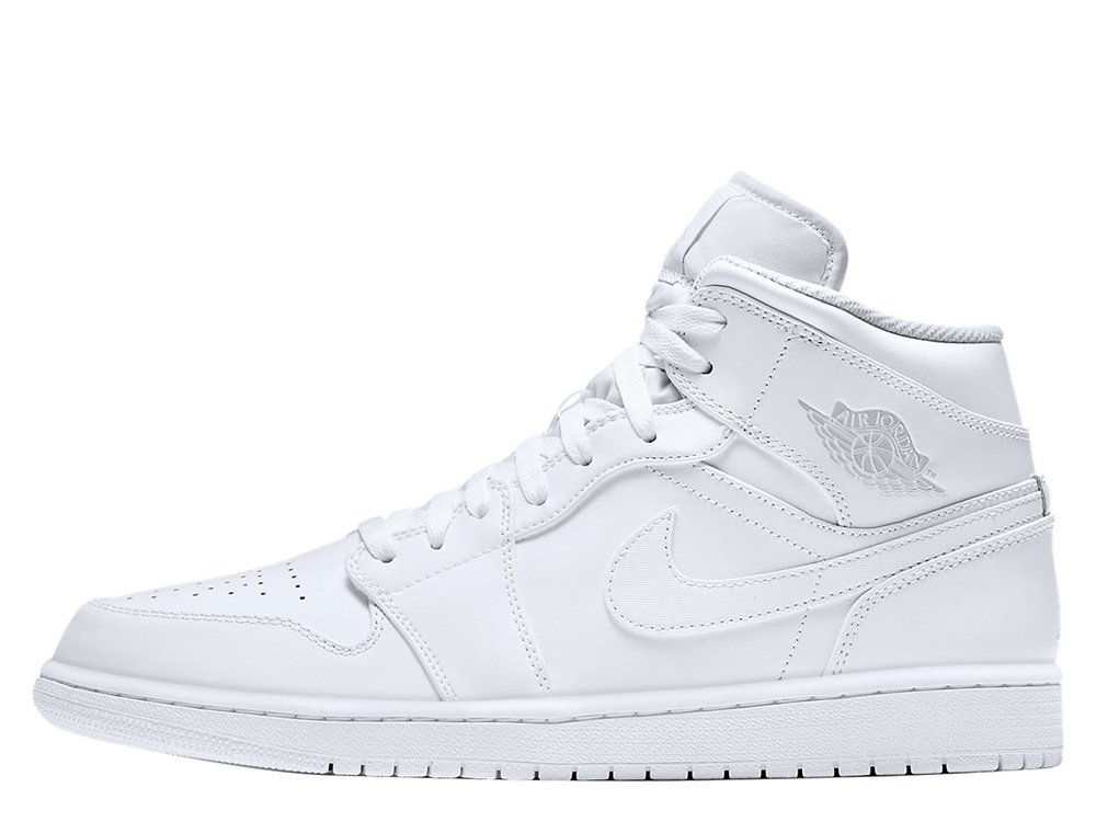 "buty air jordan 1 mid ""white"" (554724-104)"
