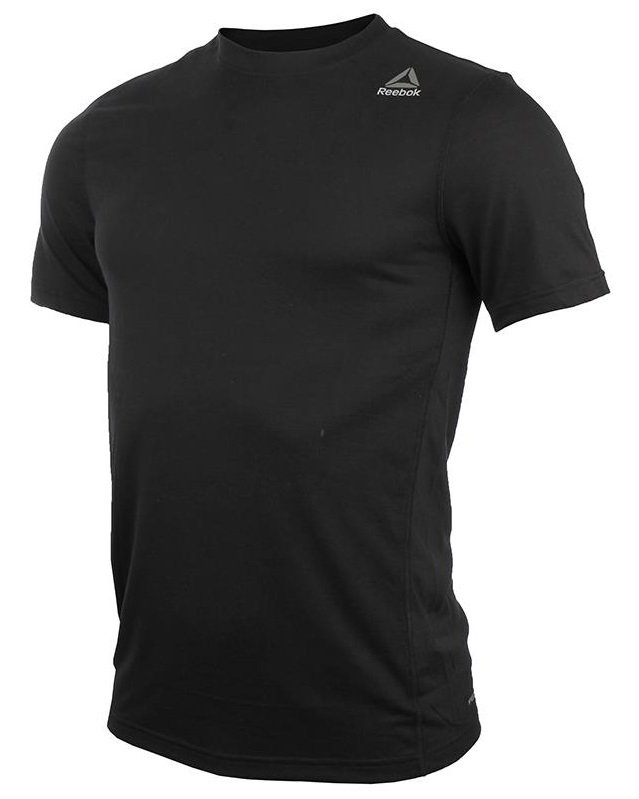 reebok workout ready supremium 2.0 tee sl black