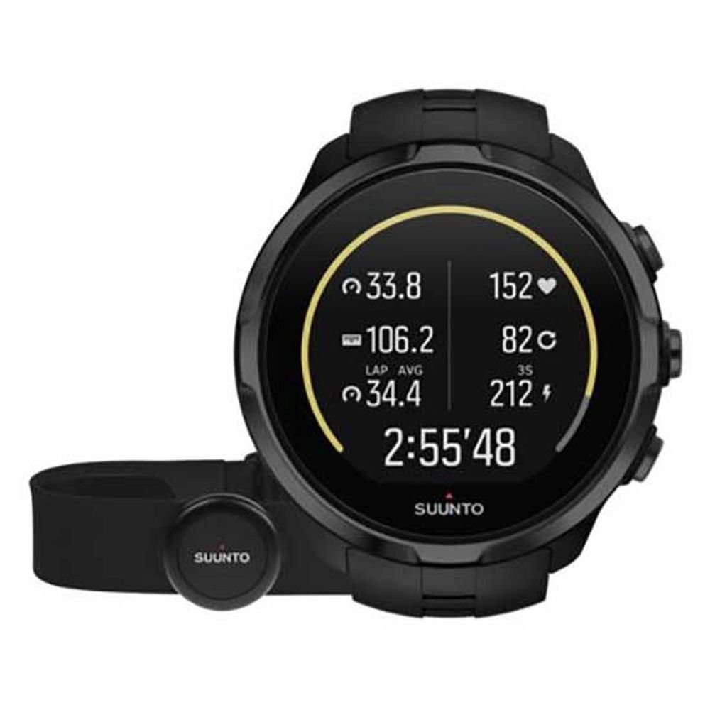 suunto spartan sport wrist hr all black + belt