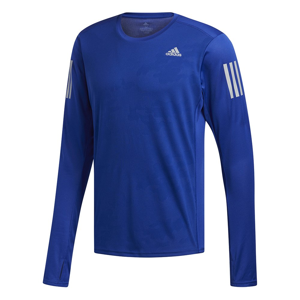 adidas response long sleeve tee mystery ink