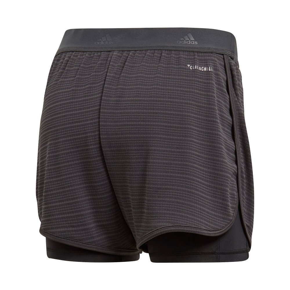 adidas two-in-one chill shorts w grafitowe