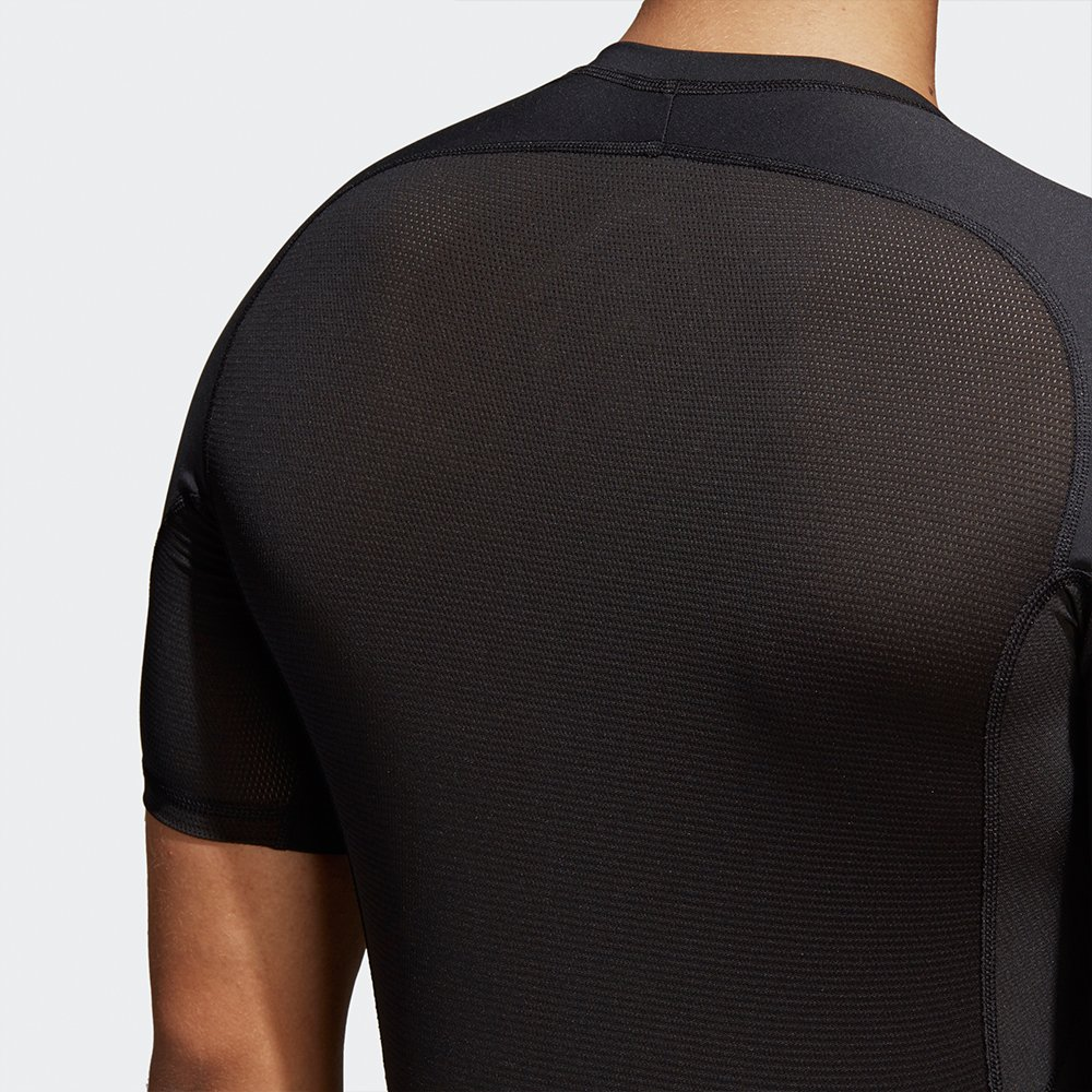 adidas alphaskin sport tee short sleeve black