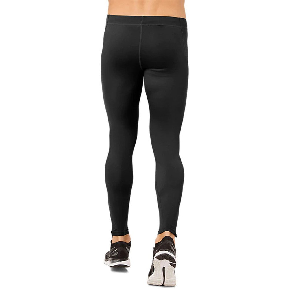 asics silver tight m czarne