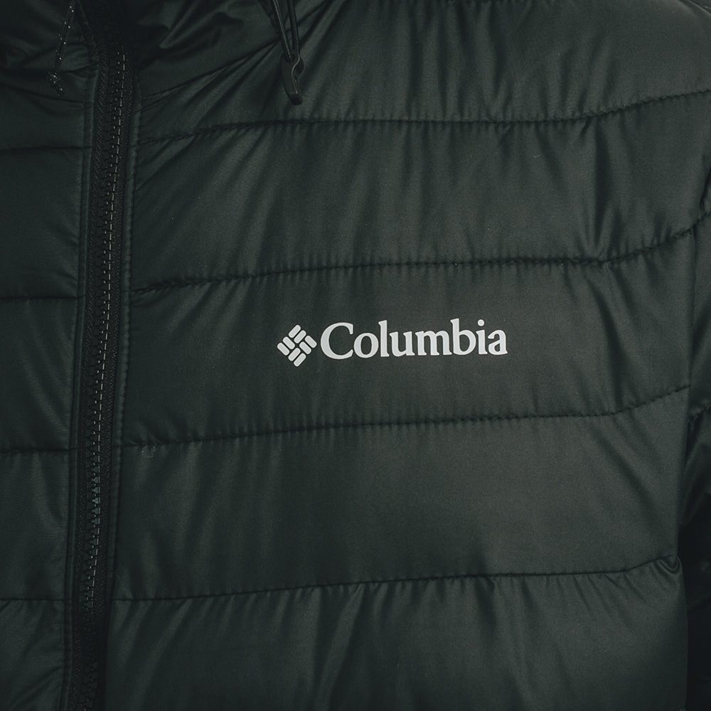columbia powder lite™ hooded jacket m czarna