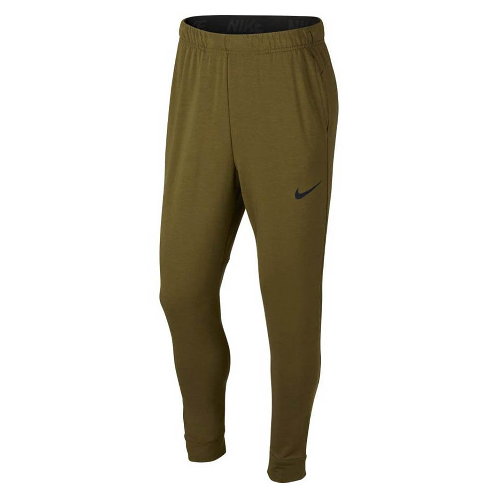nike training tapered hyperdry m zielone