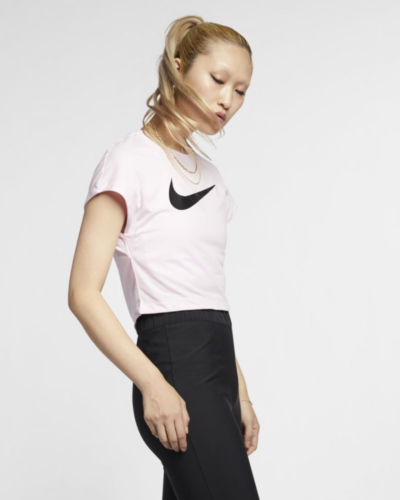 nike wmns nsw swoosh top crop (ar3064-663)