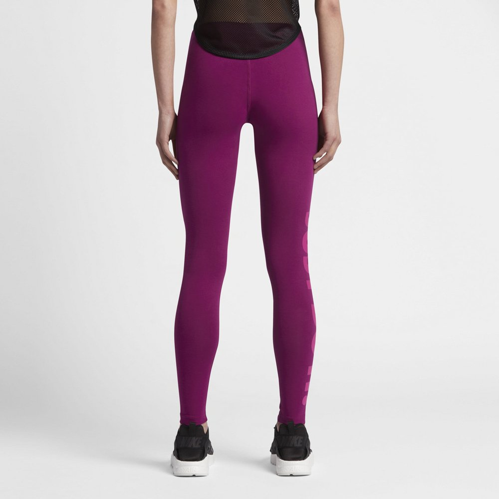 nike sportswear leg-a-see just do it leggings damskie fioletowe