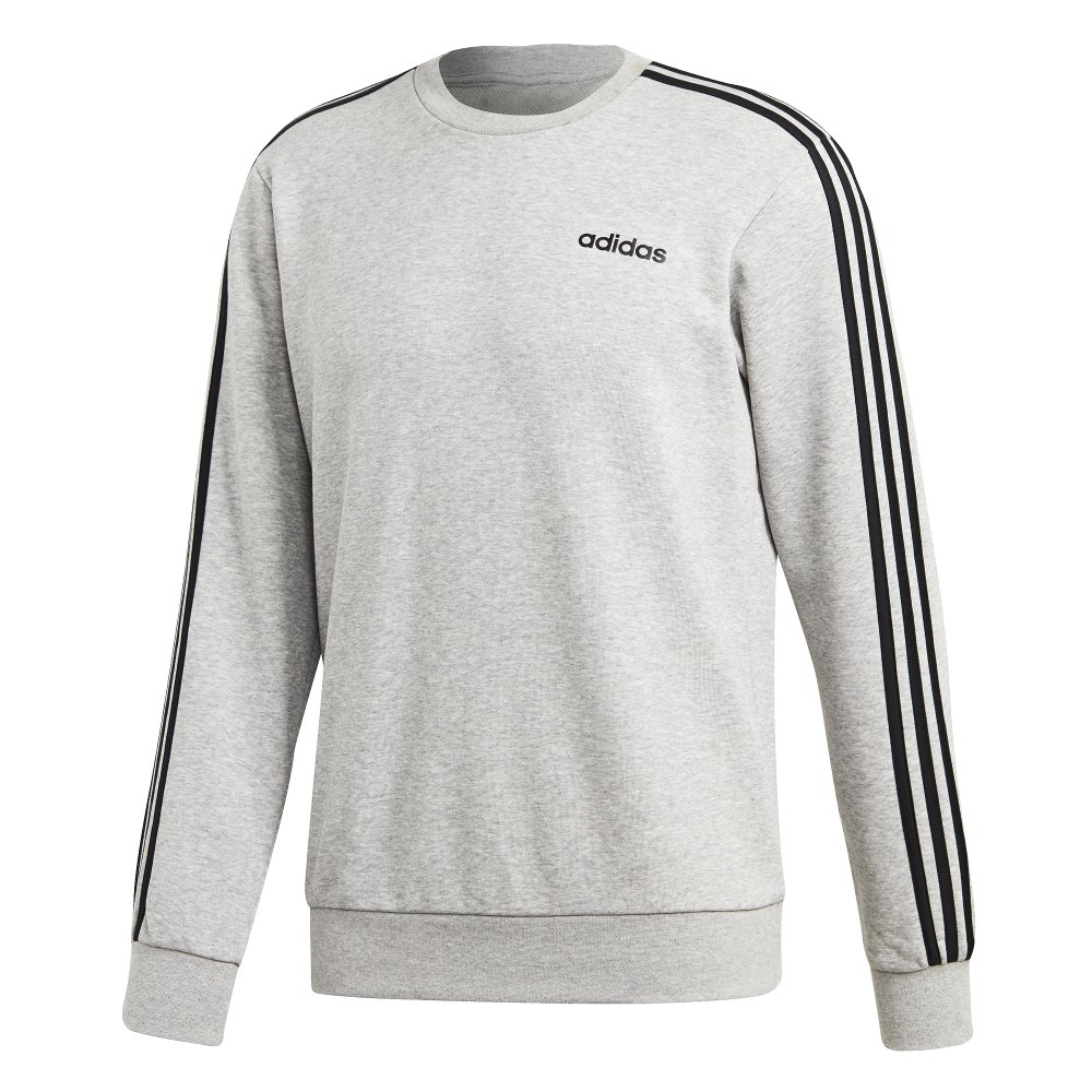 adidas essentials 3-stripes crewneck