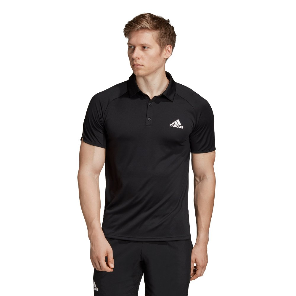 adidas club polo czarna