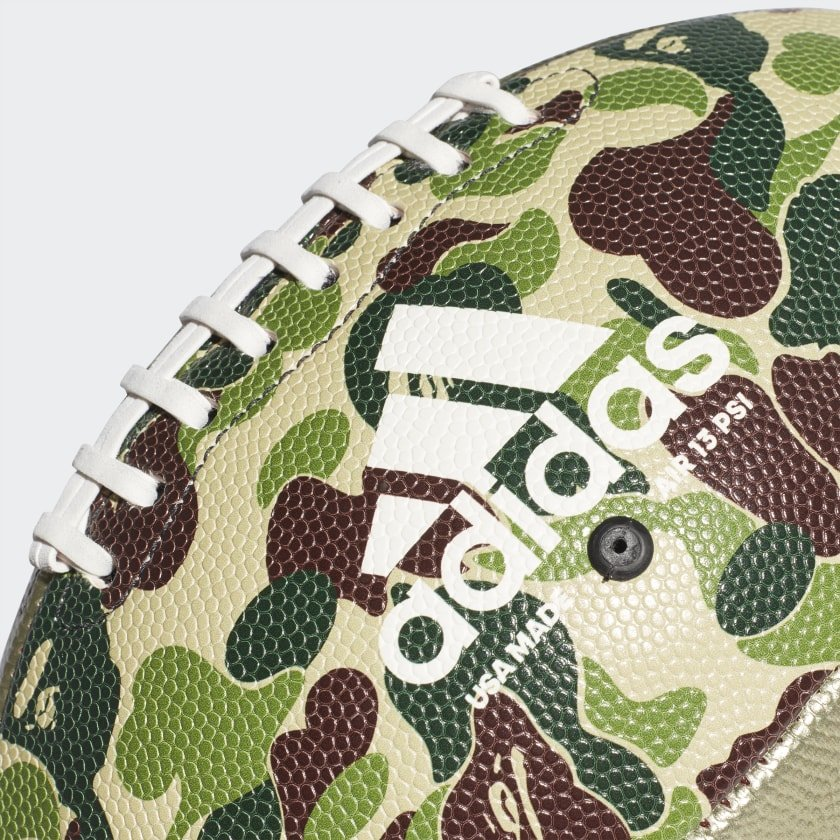 adidas x bape rifle football (cl5412)