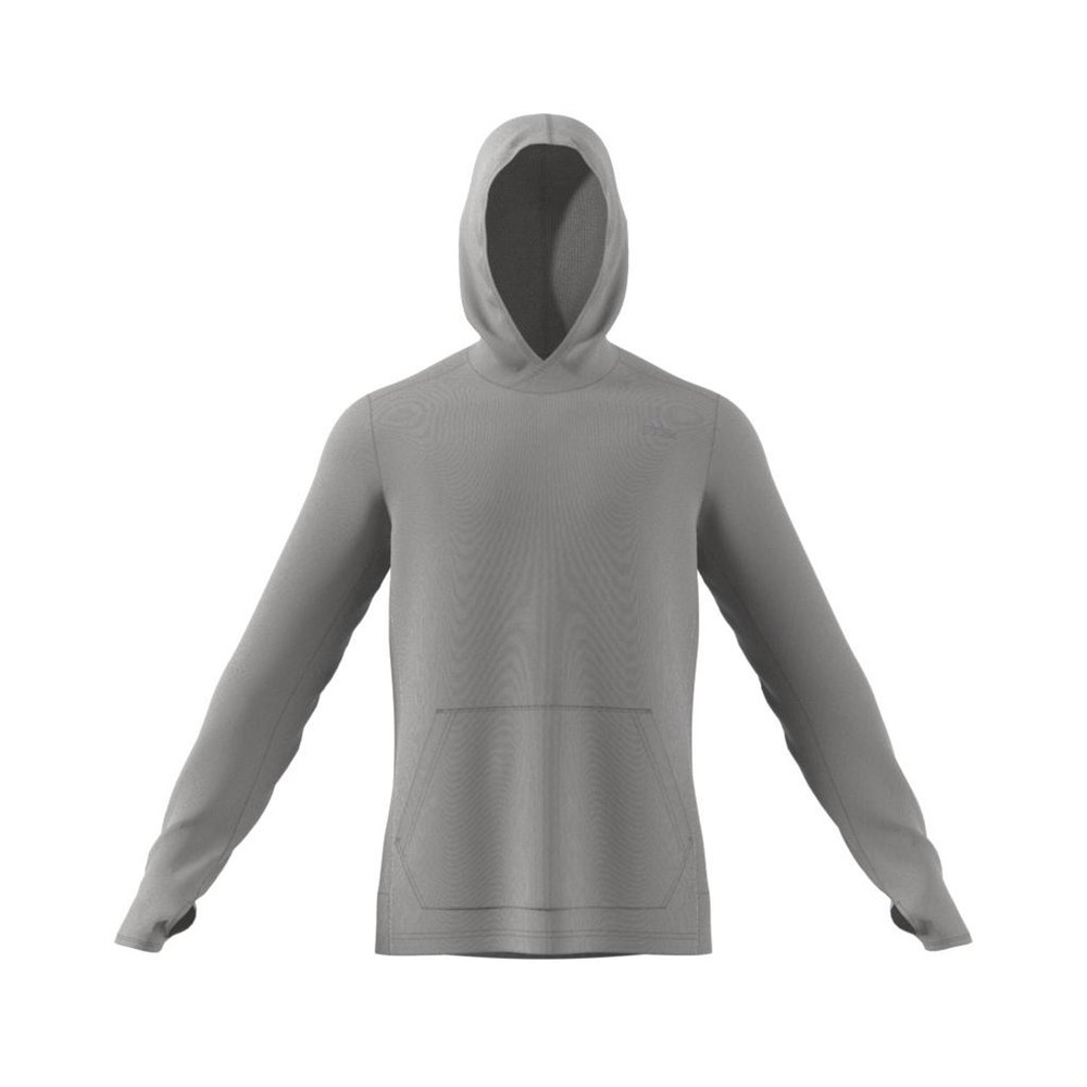 adidas own the run hoodie m szara
