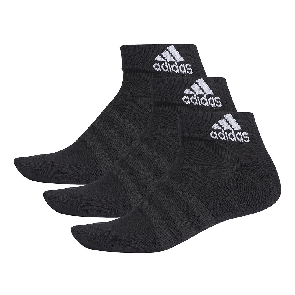 adidas cushioned ankle socks 3pack (dz9379)