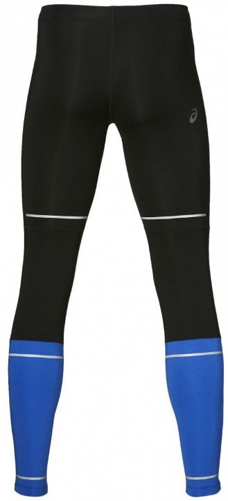 asics lite-show tight black blue