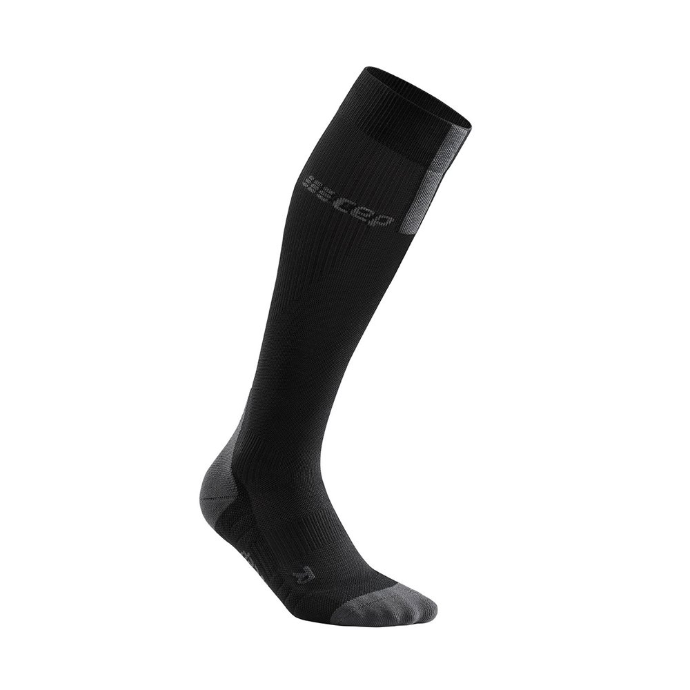 cep run compression socks 3.0 w szaro-czarne