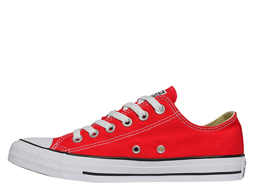 converse chuck taylor all star low red w