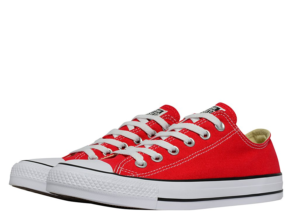 converse chuck taylor all star low red (m9696-w)