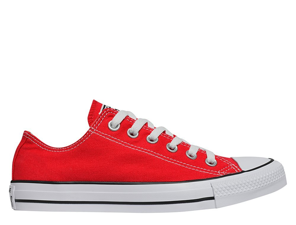converse chuck taylor all star low red (m9696-m)