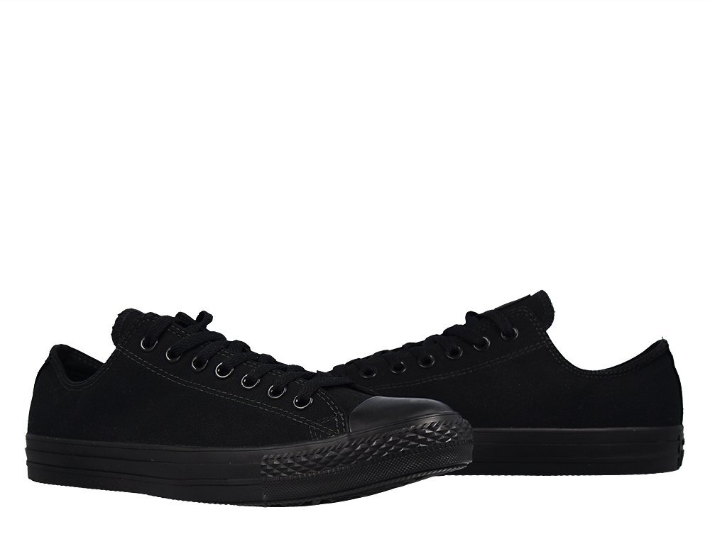 converse chuck taylor all star low all black w