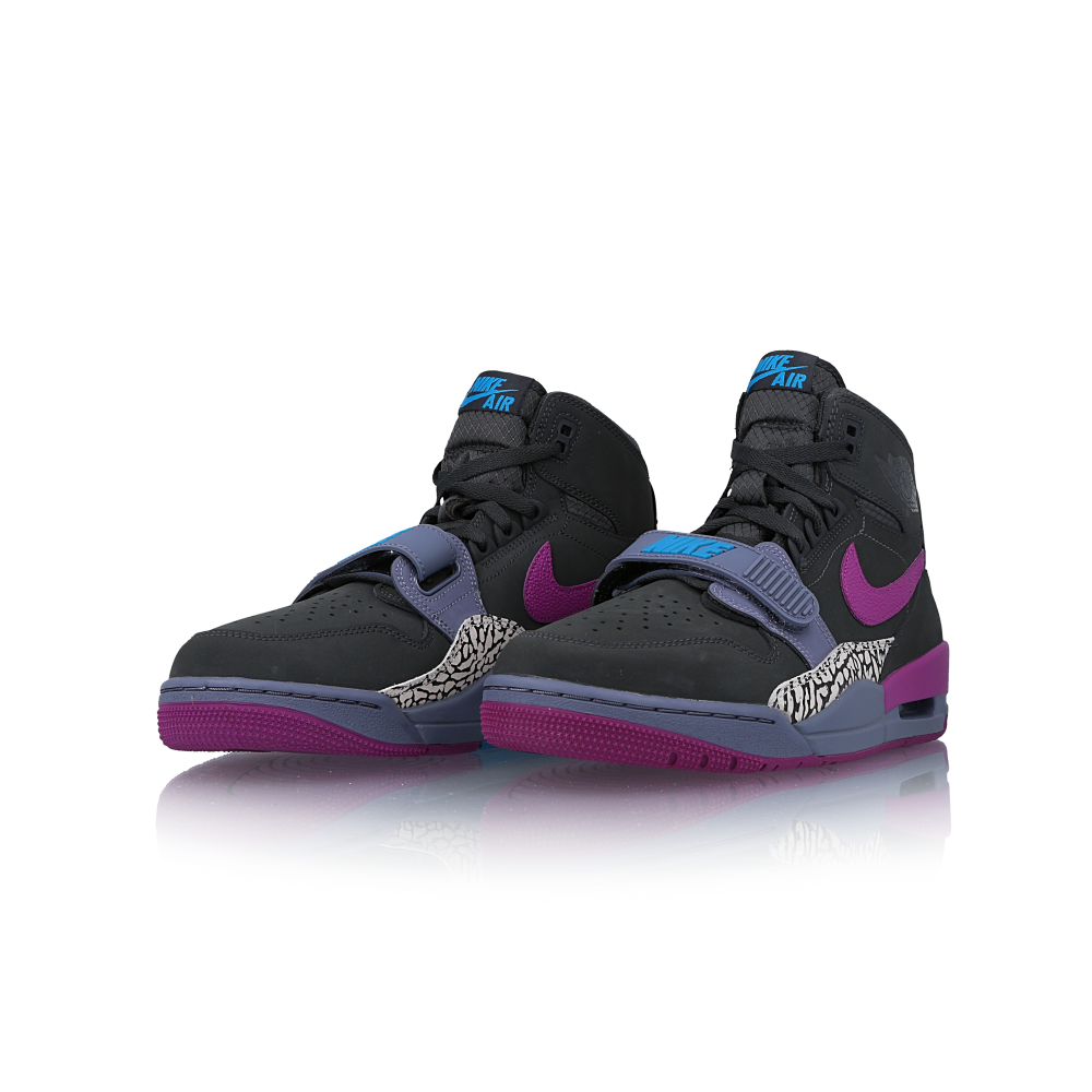 "air jordan legacy 312 ""grey purple"""