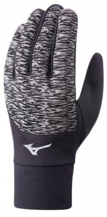 mizuno windproof glove black