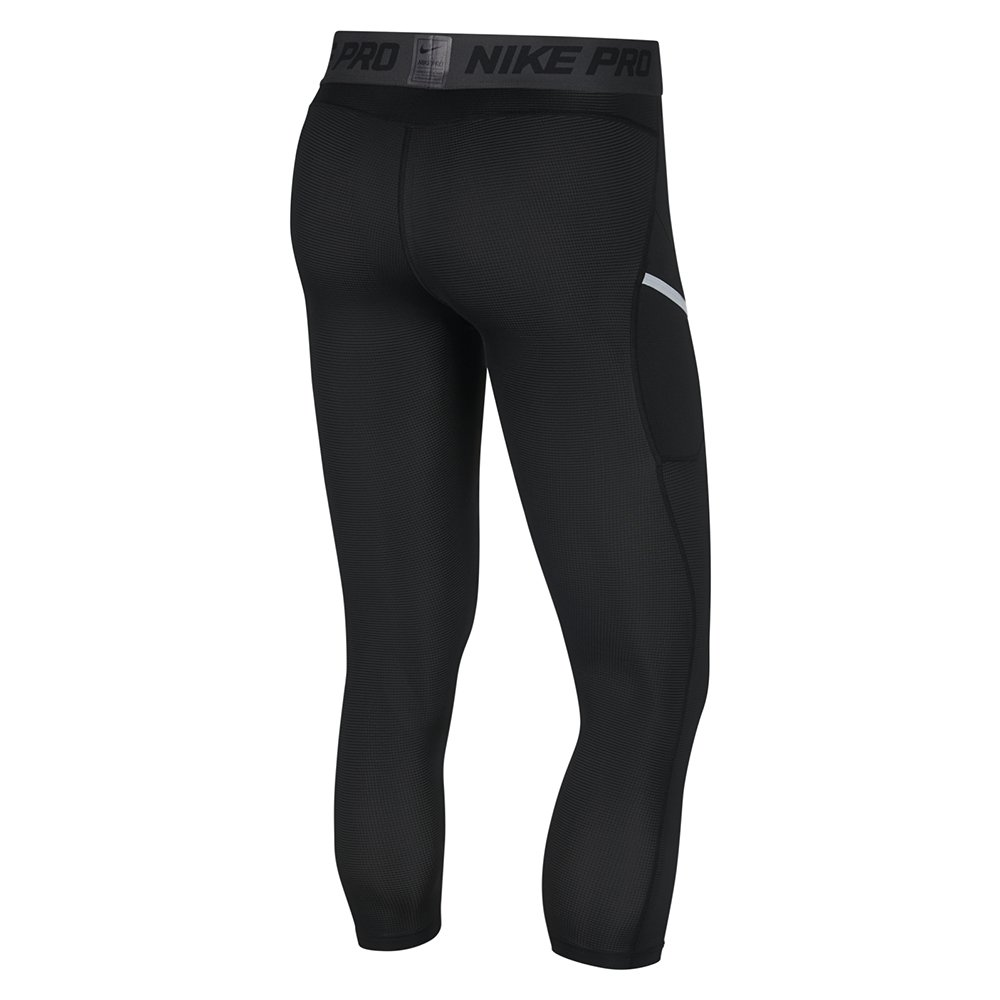 nike np 3/4 basketball tights (at3383-010)