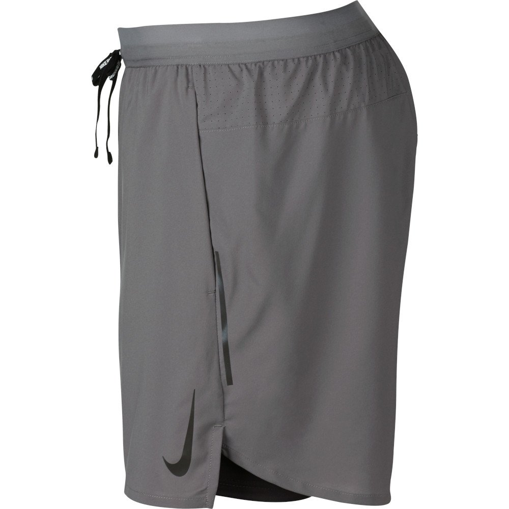 nike flex stride 5 inch 2-in-1 shorts m szare