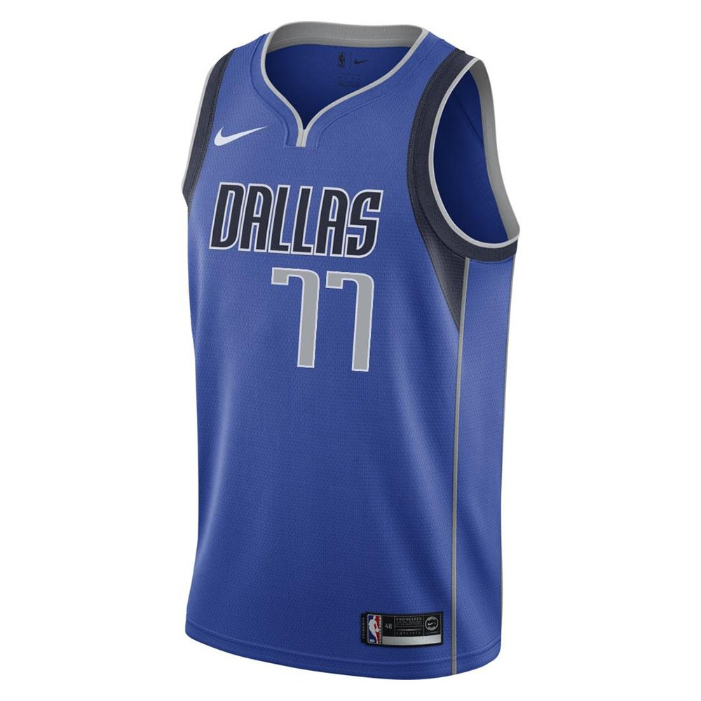 nike nba dallas mavericks swingman jersey luka doncic #77 (ez2b7bz2p-mavdl)
