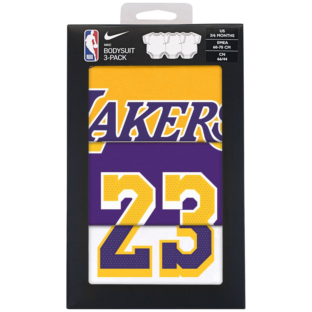 authentic player nike creeper 3 pack box set - los angeles lakers james lebron