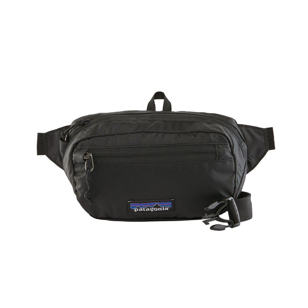 patagonia ultralight black hole® mini hip pack 1l (49447-blk)