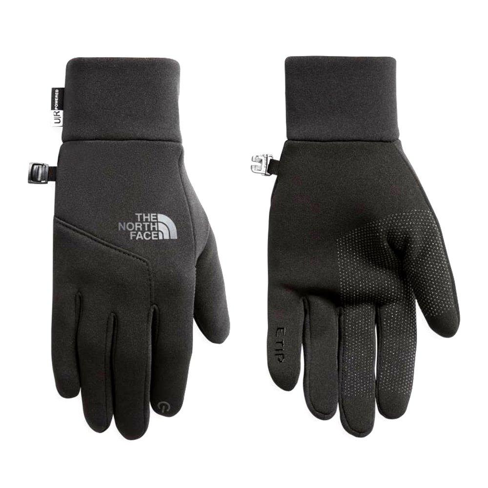 the north face etip glove czarne