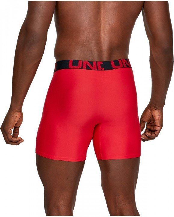 under armour tech 6in 2pack red