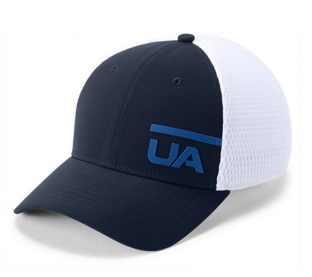 under armour men's train spacer mesh cap navy
