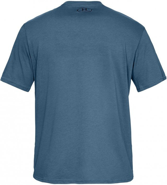 under armour ua team issue wordmark short sleeve blue