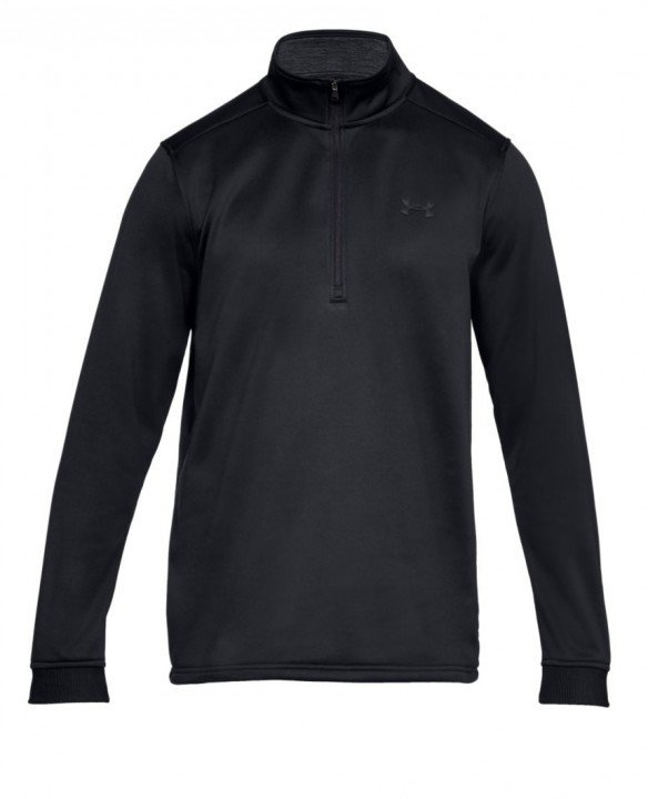 under armour armour fleece 1/2 zip black