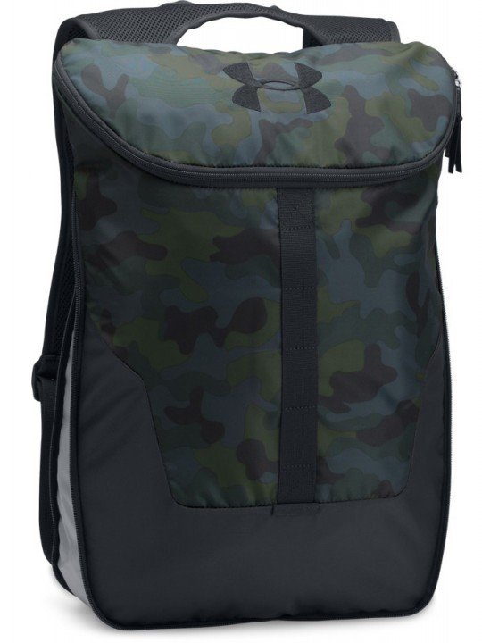 under armour expandable sackpack camo green