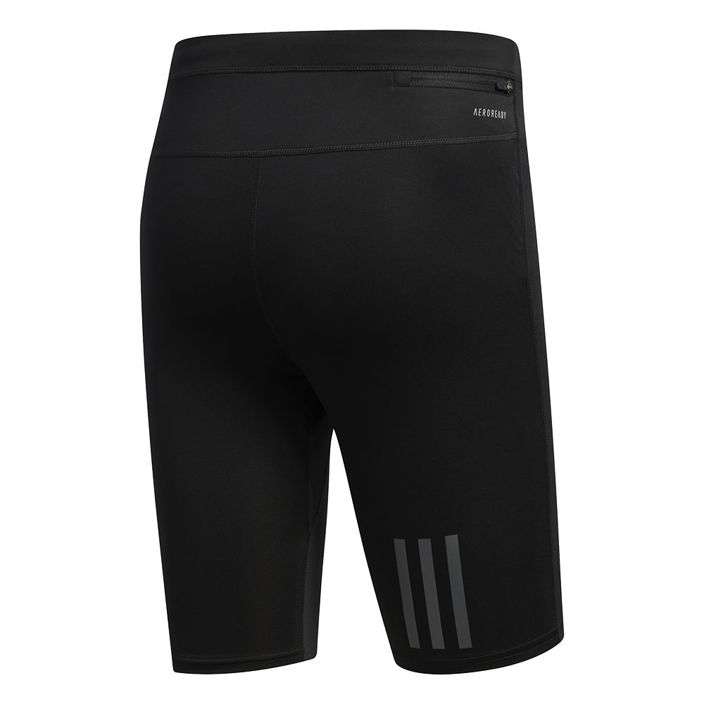 adidas own the run short tights m czarne