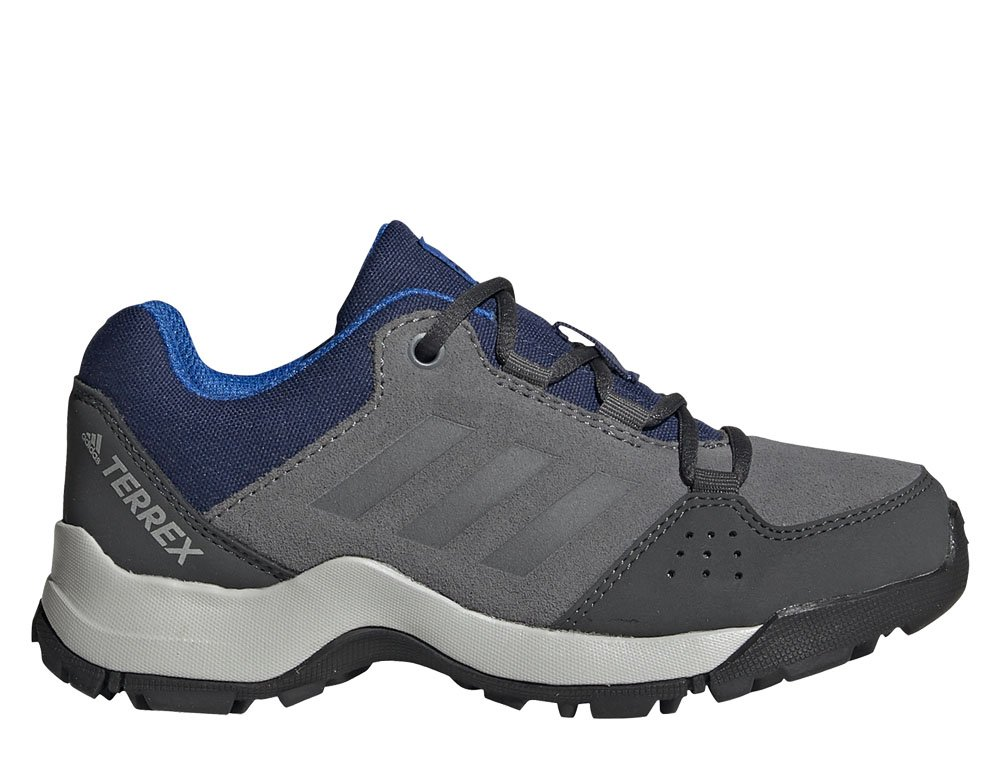 adidas terrex hyperhiker low leather hiking szaro-niebieskie