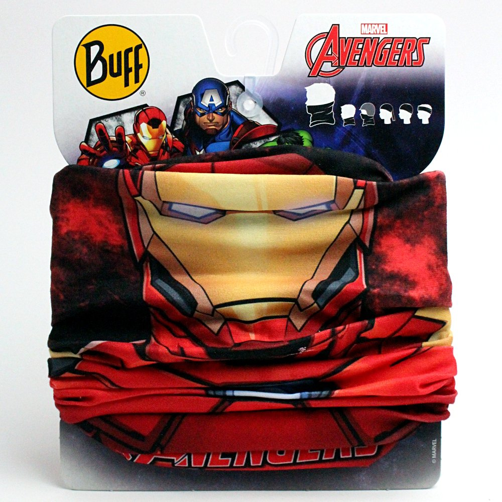 buff super heroes original avengers iron-man czerwona