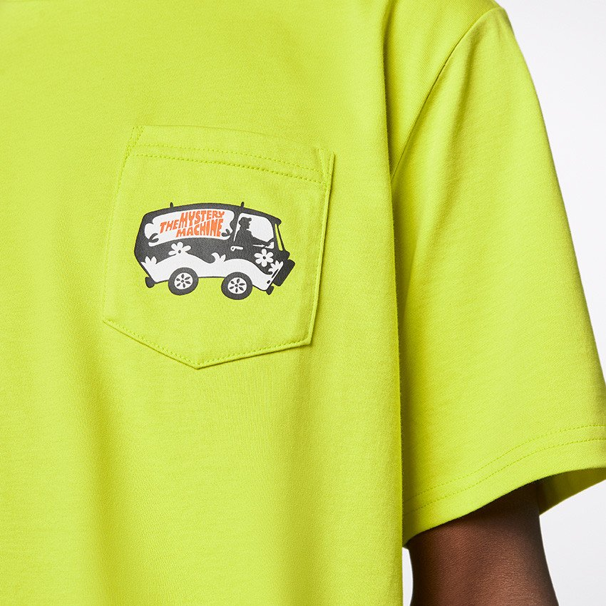 converse by scooby doo pocket t-shirt (10020845-a01)