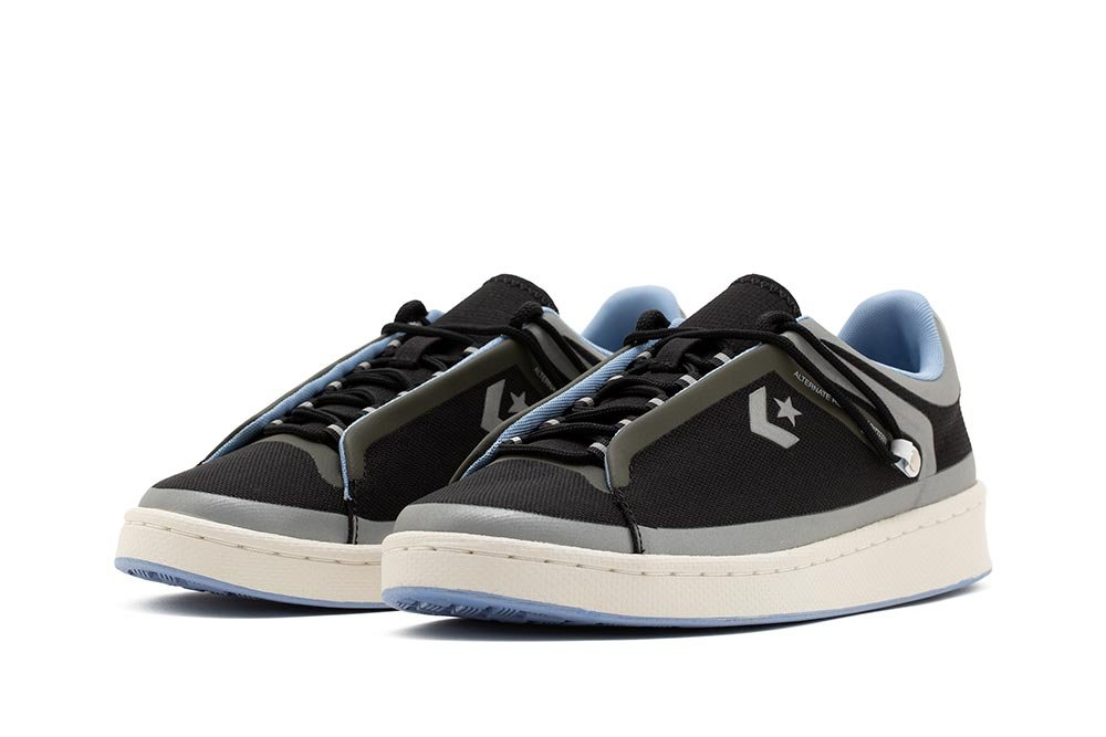converse seam tape pro leather low top (169524c)