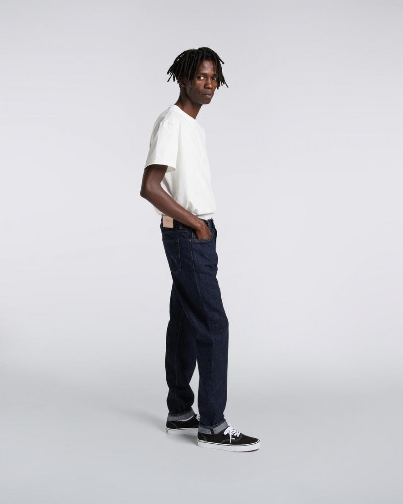 edwin regular tapered jeans (i027654-013w-32)