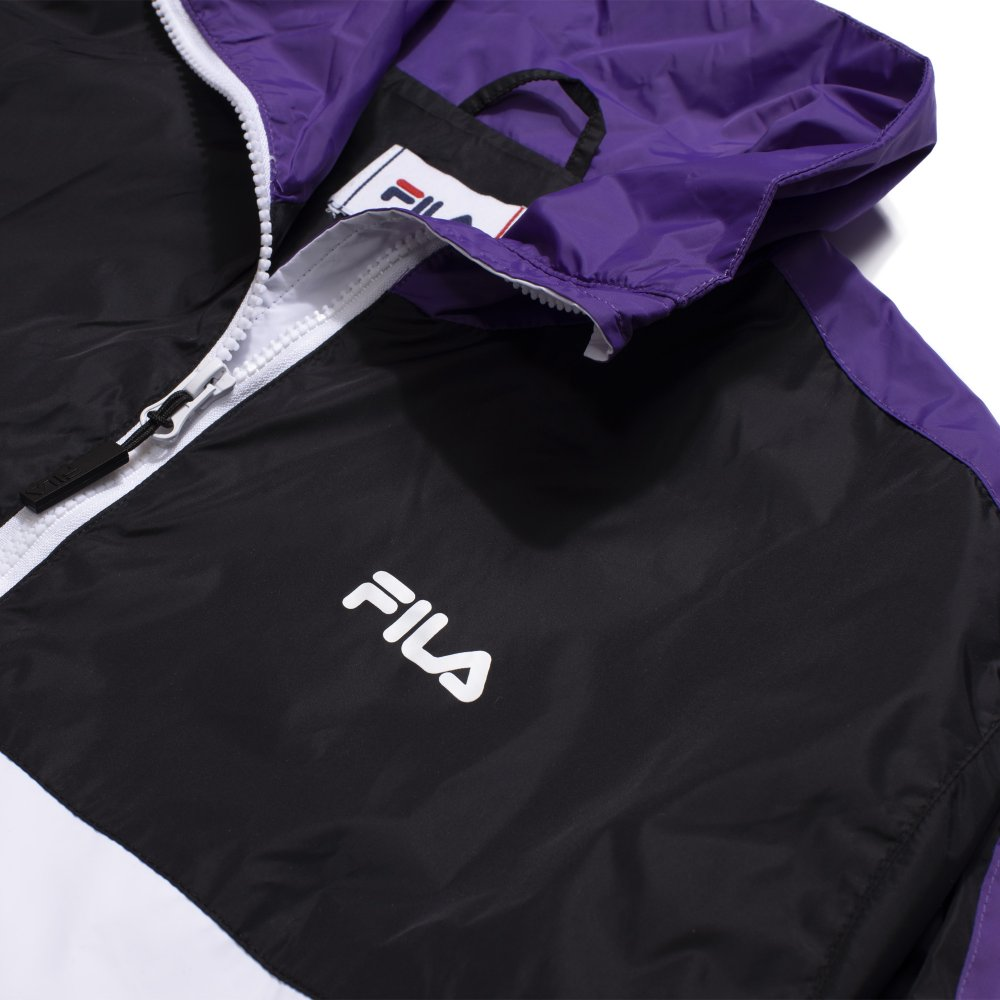 fila wmn cage cropped woven jacket (687676-a498)